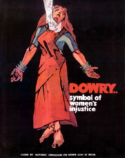 dowry… symbol of women's injustice