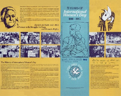 75 years of international women's day