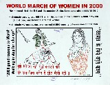 world march of women in 2000-poster 6