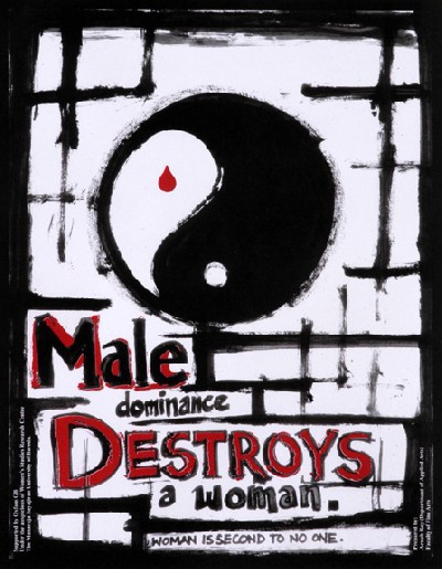 male dominance destroys…