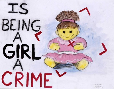 is being a girl…