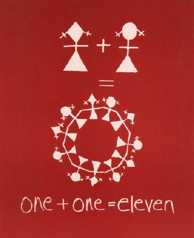 one + one = eleven