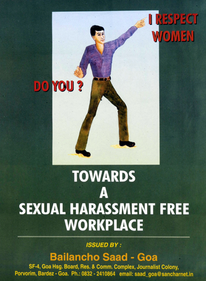 Sexual harassment workplace poster